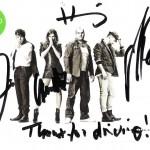 utografy i podziekowania od Guano Apes!